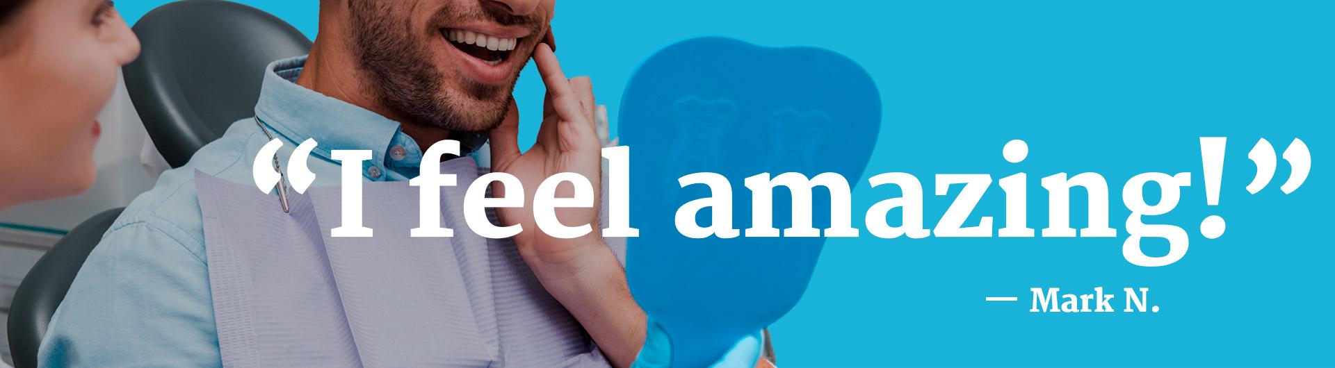 I feel amazing - All Smiles Bethesda